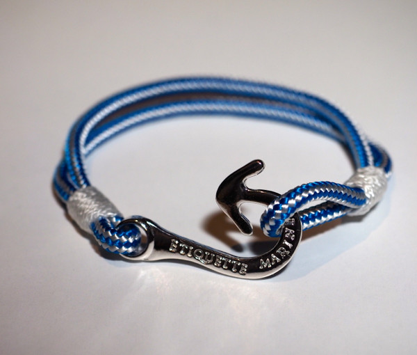 Hook hand made nautical bracelet