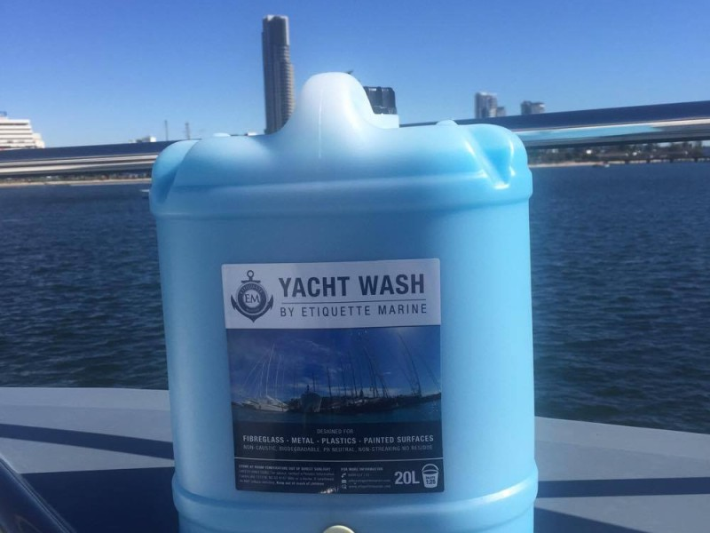 Yacht Wash By Etiquette Marine New standard in Yacht care